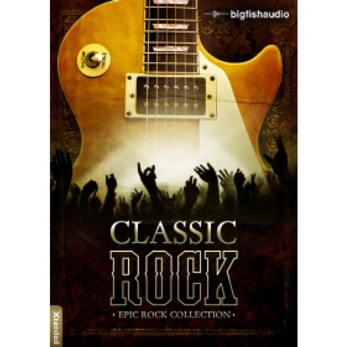 Big Fish Audio Classic Rock 1