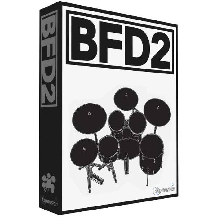 FXpansion BFD2 Virtual Drum Software
