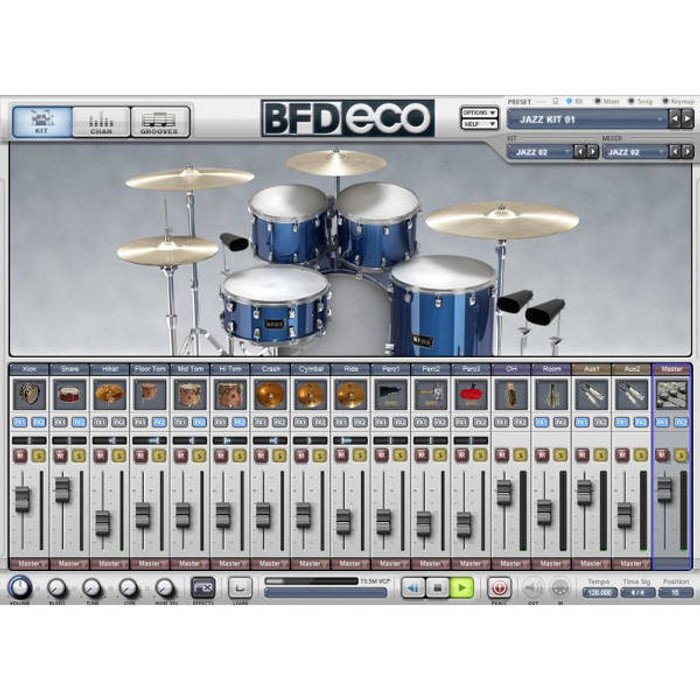 FXpansion BFD Eco Virtual Drum Software