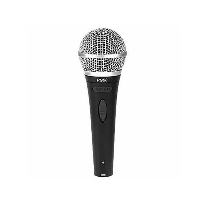 Shure PG58-XLR Dynamic Vocal Microphone