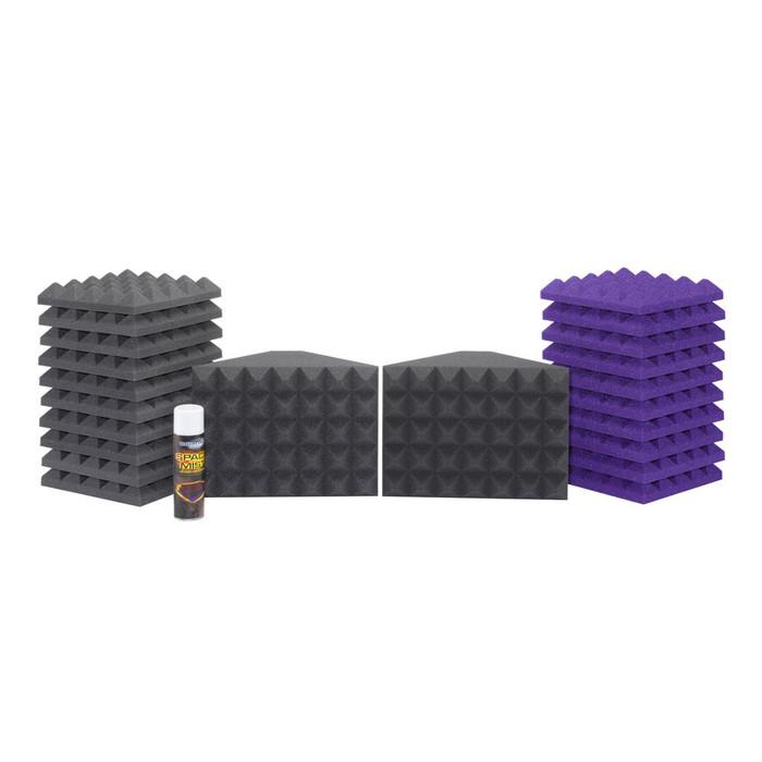 Universal Acoustics Saturn 1 Room Kit (Purple Charcoal)