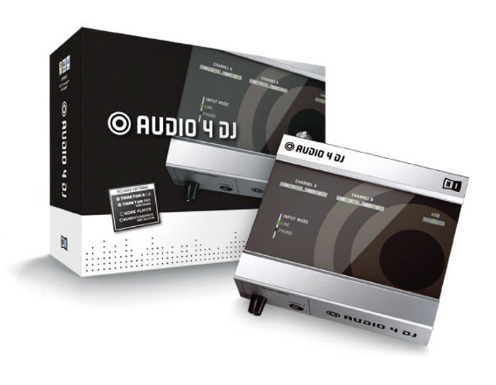 Native Instruments Audio 4 DJ USB 2.0 Interface