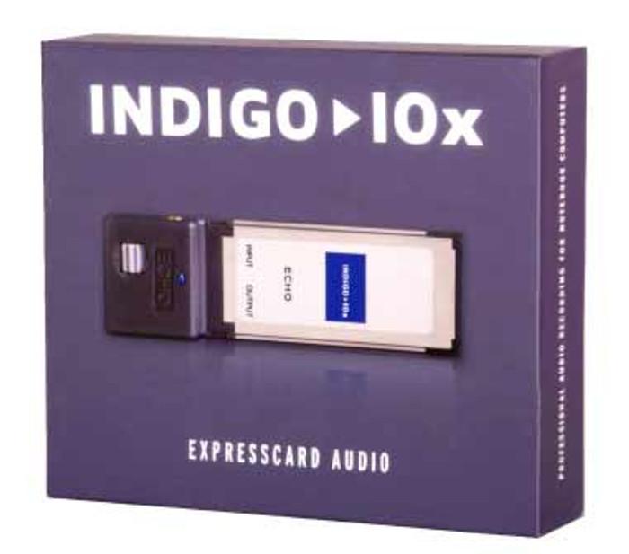 Echo Indigo IOx PCI ExpressCard