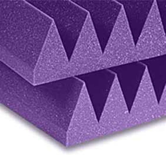 Auralex 4 Inch Studiofoam 22 Wedge (Purple)