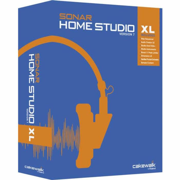 Cakewalk Home Studio 7 XL Academic