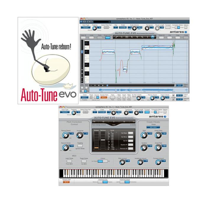 Antares Autotune EVO Native VST Pitch Correction Software Plug-in