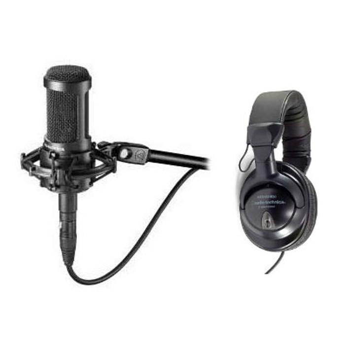 Audio-Technica AT2050 & ATH-M40 Studio Recording Pack