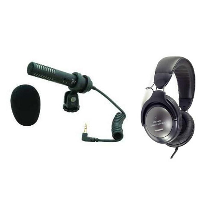 Audio-Technica PRO24-CM & M20 Headphone Recording Pack