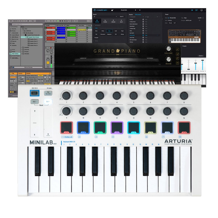 Arturia Minilab MK2 Midi Keyboard Software