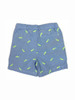 Oxford Fish Embroidered Shorts, Little Boys
