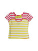 Pink and White Striped Shirt, Toddler Girls