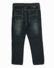 Black Slim Denim Jeans, Toddler Girls