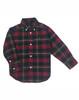 Green & Red Plaid Button-down Shirt, Toddler Boys