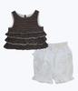 Polka Dots Ruffle Outfit, Toddler Girls
