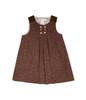 Brown Tweed Dress, Baby Girls