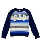 Blue & Gray Wool Blend Sweater, Little Boys