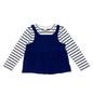 Elysian Blue Striped Top, Toddler Girls