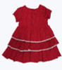 Corduroy Smocked Tiered Holiday Dress, Toddler Girls