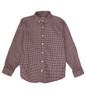 Red Checkered Button Down Shirt, Big Boys