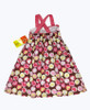 Pink & Brown Sleeveless Dress, Toddler Girls