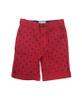 Red Anchor Print Shorts, Toddler Boys
