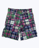 Multi-Color Patchwork Shorts, Toddler Boys