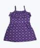 Purple Ruffle Organic Dress, Baby Girls
