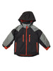 Boys Black Colorblock 3-in-1 Jacket, Toddler Boys