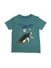 Teal Dig It Tee Shirt, Little Boys