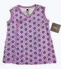 SOLD Lilac Floral Wrap Tunic, Baby Girl
