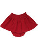 Red Bow Corduroy Skirt, Toddler Girls