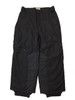 Boys Solid Black Snow Pants