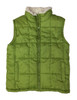 Green Puffer Vest, Little Boys