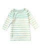 Mint Mix-stripe Dress