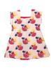 Organic Fruity Colorblock Dress, Toddler Girl