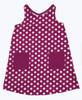 Sailaway Knot Back Dot Pocket Sundress, Toddler Girl