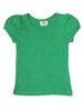 Green Pointelle Tee, Toddler Girls