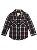 Maroon Plaid Shirt, Toddler Boys