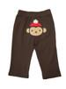 Brown Monkey Knit Pants, Baby Boys
