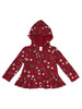Hearts and Flowers Hooded Top, Toddler Girls
