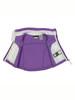 Light Purple Fleece Vest, Baby Girls