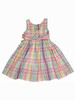 Pastel Plaid Dress, Little Girls