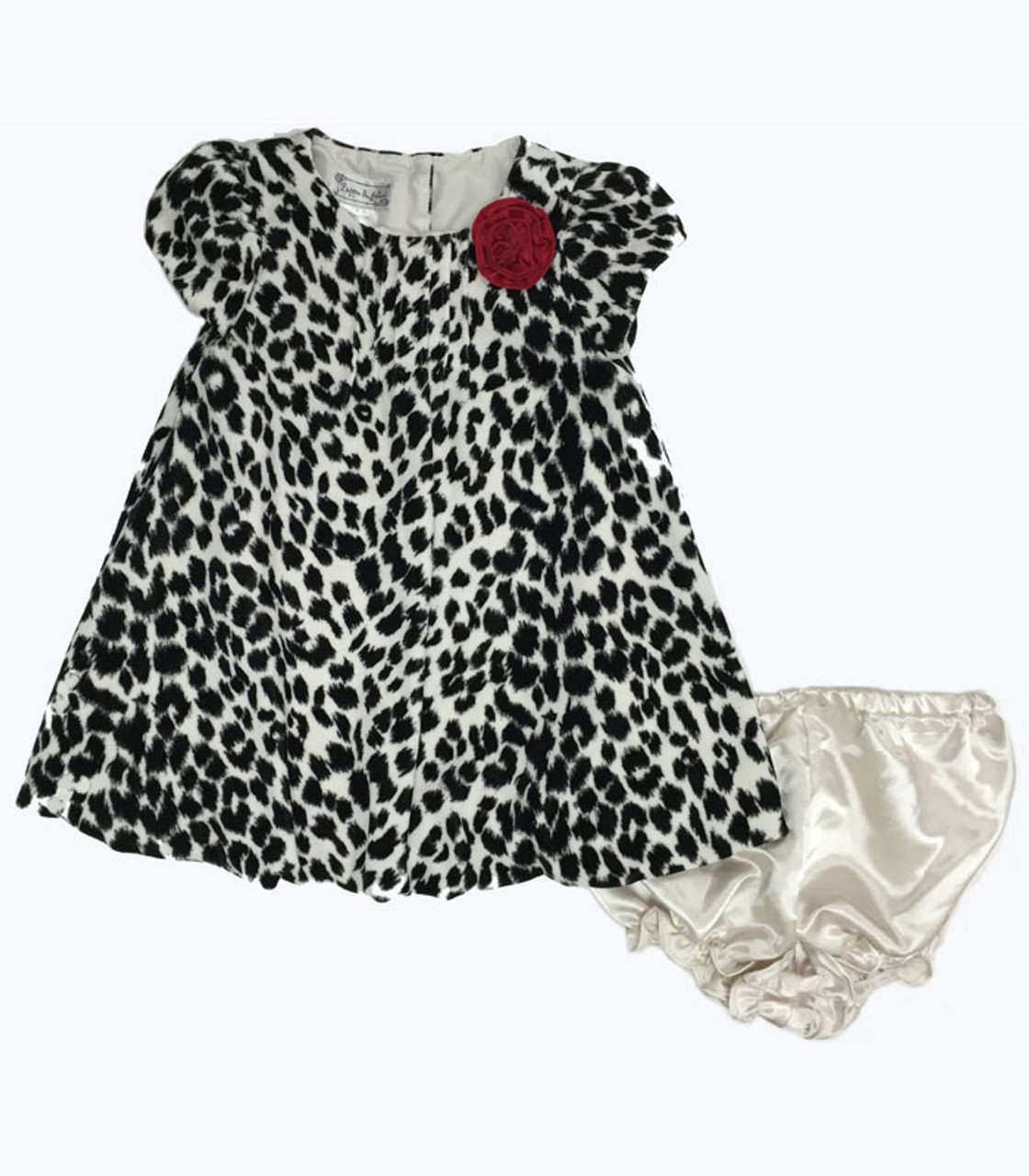 96e4273f74f69 Pippa and Julie Animal Print Dress | Berri Kids Boutique