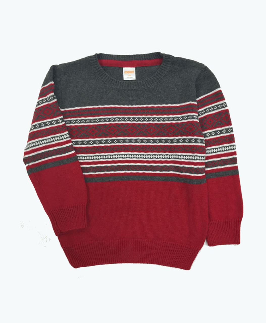Fair Isle Sweater, Toddler Boys