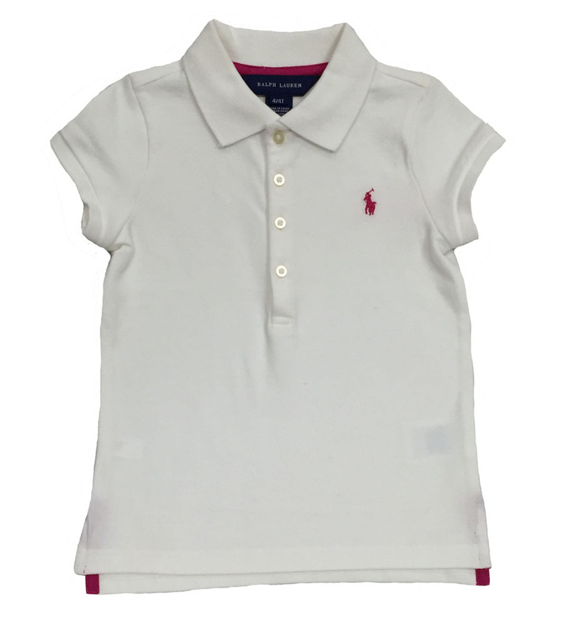 Ralph Lauren Toddler Girls Polo Shirts Berri Kids Boutique