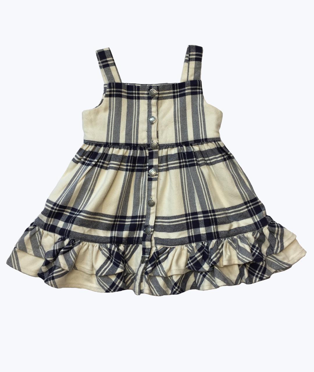 727343542 Ralph Lauren Baby Girls Plaid Jumper Dress | Berri Kids Resale Boutique