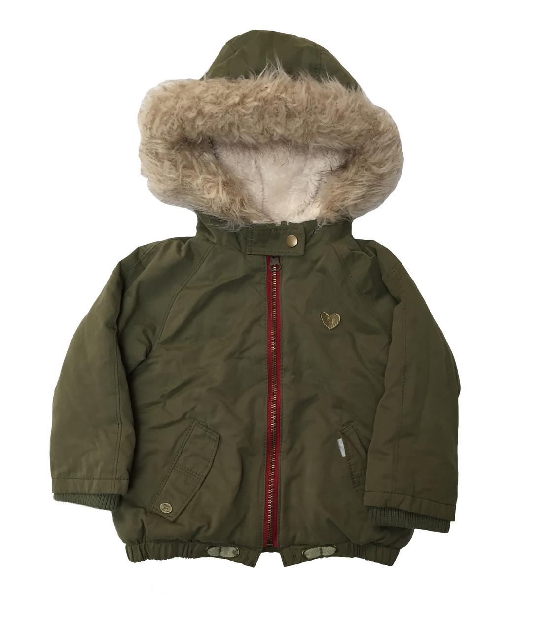 1cefd34631d9 Zara Baby Girl Faux Fur Jacket