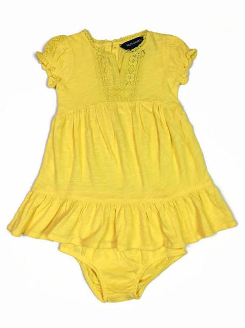 Oasis Yellow Dress, Baby Girls