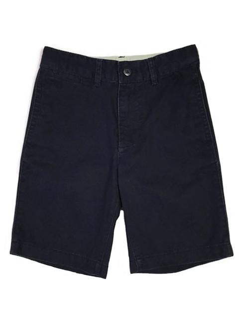 Dark Navy Khakis Shorts, Little Boys