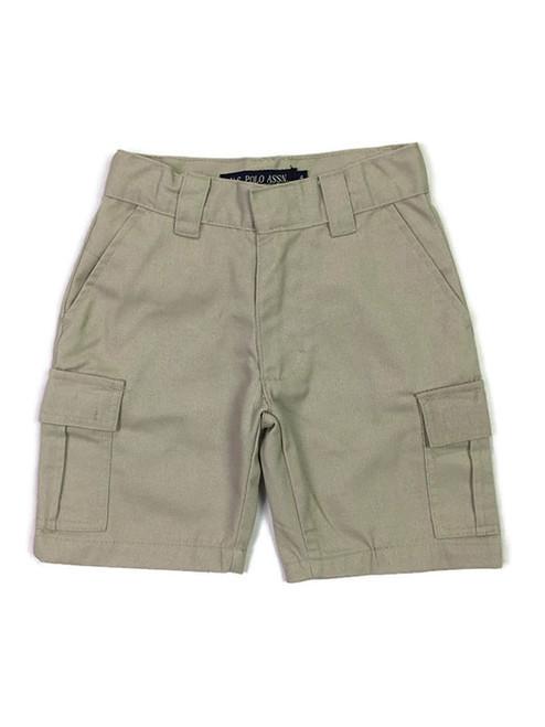 Khaki Cargo Shorts, Toddler Boys